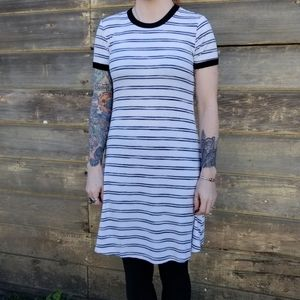 Mossimo | striped t-shirt dress